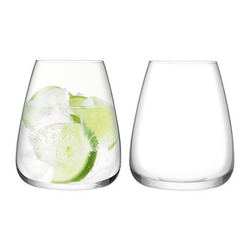 Wine Culture Water Glass - Set of 2