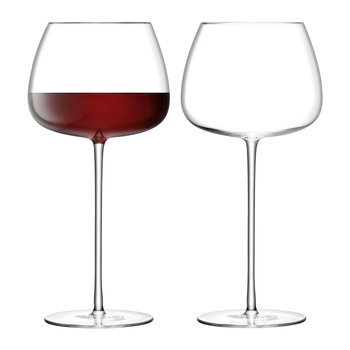 Wine Culture Red Wine Balloon Glass - Set of 2