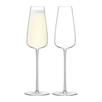 Wine Culture Champagne Flute - Set of 2