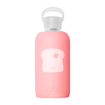 Limited Edition Glass Water Bottle - Elle Toast - 500ml