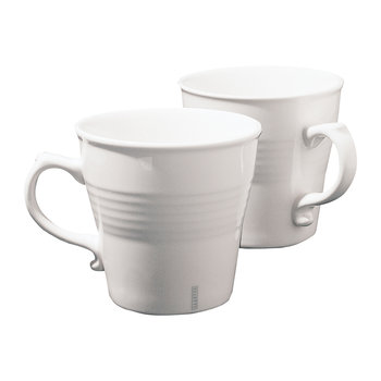 Porcelain Mugs - Set of 2