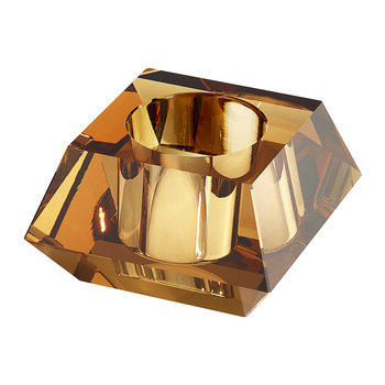 Square Candle Holder - Topaz