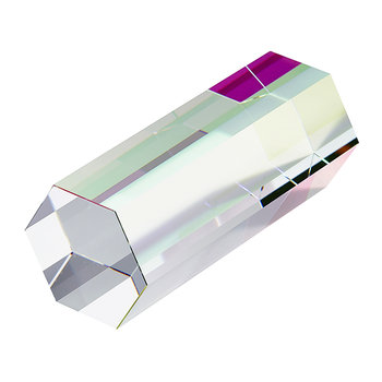 Small Crystal Stick Paperweight - Crystal
