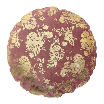 Circular Rose Pillow