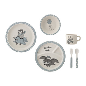 Charles Serving Set - Blue