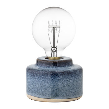 Porcelain Table Lamp - Blue