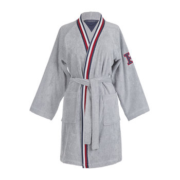 Chine Bathrobe - Grey