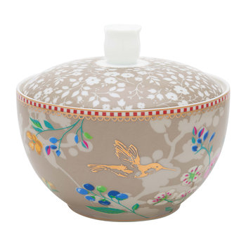 Hummingbird Sugar Bowl - Khaki