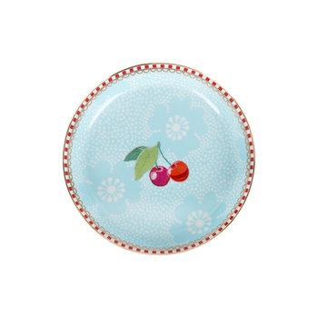 Dotted Flower Tea Tip - Blue