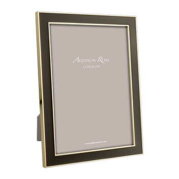 Gold & Chocolate Photo Frame