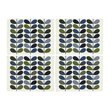 Multi Stem Placemats - Marine Khaki - Set of 4