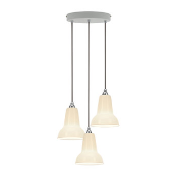 Original 1227 Mini Ceramic Cluster Pendant Light - Pure White