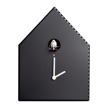 Puntinipuntini Wall Clock - Black