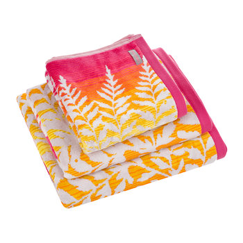 Filix Towel - Coral