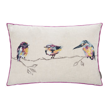 Salice Embroidered Pillow - 60x40cm