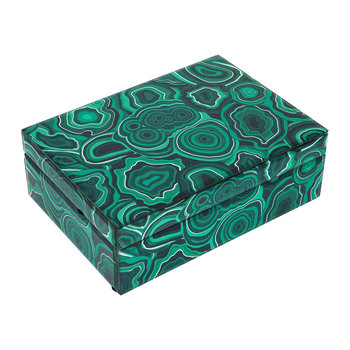 Carnival Trinket Box - Green