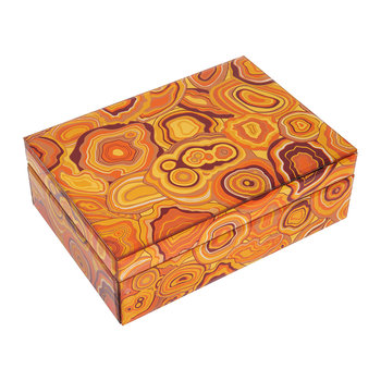 Carnival Trinket Box - Orange