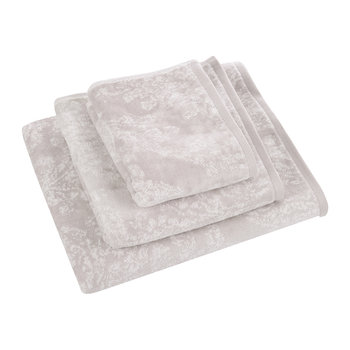Riverside Damask Towel - Amethyst