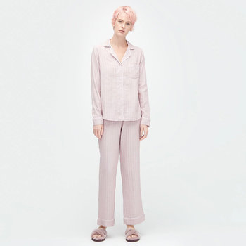 Women's Raven Stripe Pyjama Set - Dusk