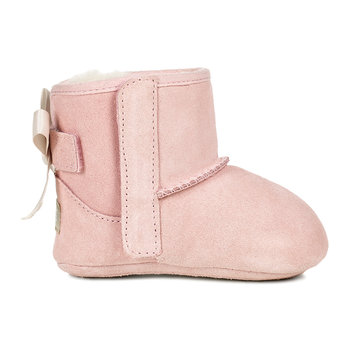 Jesse Bow II Infant Boots - Baby Pink