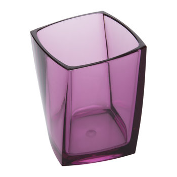 Acrylic Toothbrush Holder - Pink