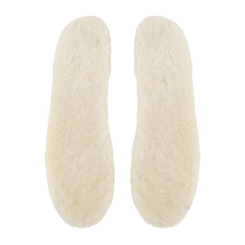 Women's Sheepskin Insoles - White