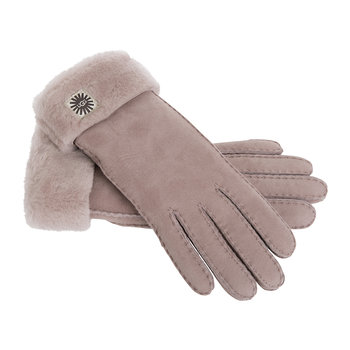 Women's Classic Sheepskin Turn Cuff Glove - Dusk