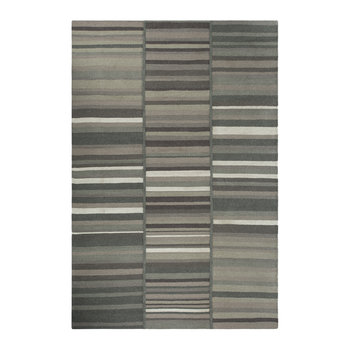 Three Row Stripe Rug - 140x200cm - Grey
