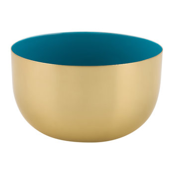 Carousel Bowl - Gold/Blue
