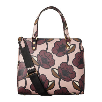 Passion Flower Bag - Jeanie - Aubergine