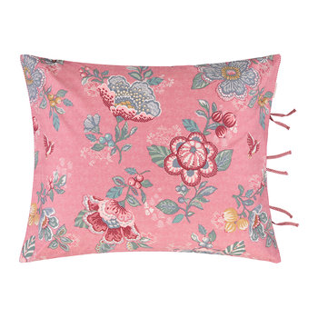 Berry Bird Cushion - 45x65cm - Pink