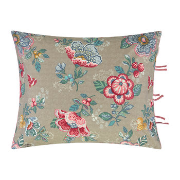 Berry Bird Cushion - 45x65cm - Khaki