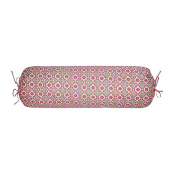 Double Check Neckroll - 22x70cm - Pink