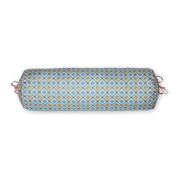 Double Check Neckroll - 22x70cm - Blue