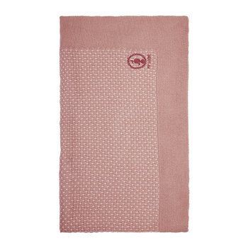 Cosy Knitted Blanket - Pink