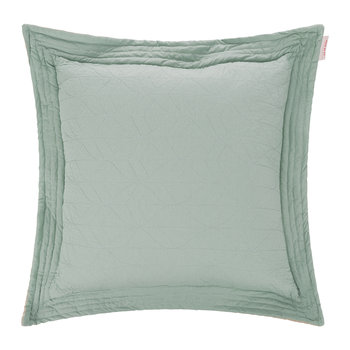 Leaves Square Cushion - 60x60cm - Green