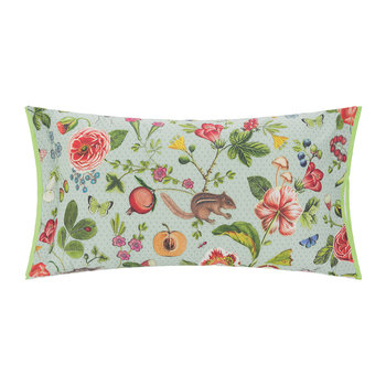 Woodsy Cushion - 35x60cm - Blue/Green