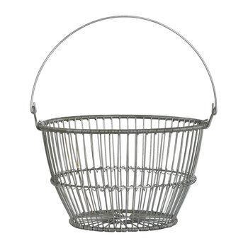 Galvanised Wire Basket