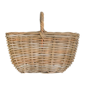Bembridge Market Basket - Rattan