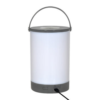 Cornbury Rechargeable LED Lantern - Charcoal