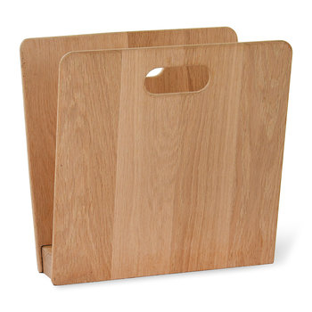 Woodstock Magazine Rack - Raw Oak