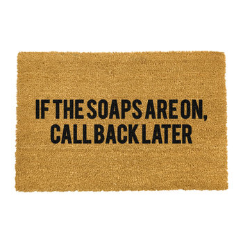 If The Soaps Are On Doormat