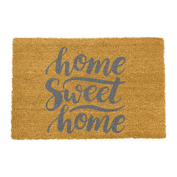 Home Sweet Home Doormat - Grey