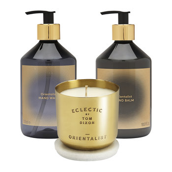 Orientalist Candle Giftset - Gold - Medium