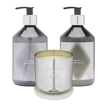 Royalty Candle Giftset - Silver - Medium
