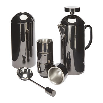 Brew Cafetiere Giftset - Black