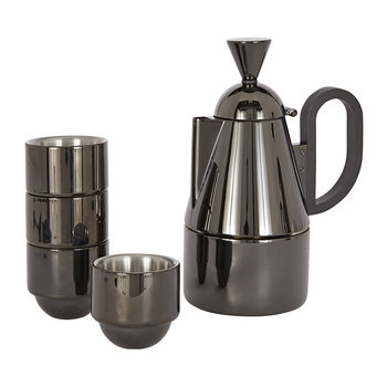 Brew Stove Top Giftset - Black