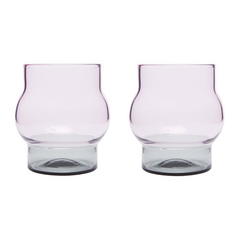 Bump Glass - Set of 2 - Short