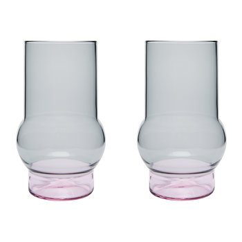 Bump Glass - Set of 2 - Tall