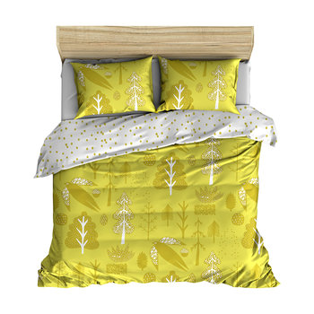 Flying Bird Duvet Set - Yellow